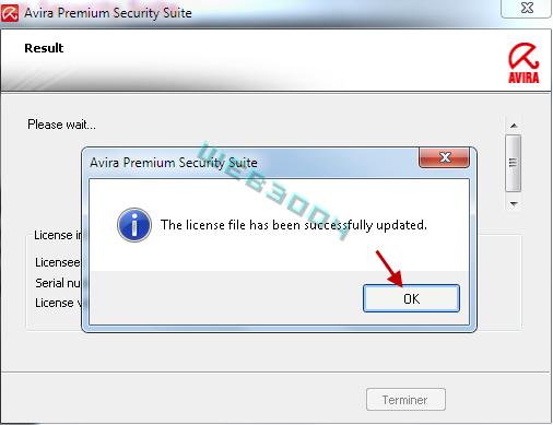 Avira Internet security  v10 gratuit 6 Mois sur le web3004 ! 10-03-24