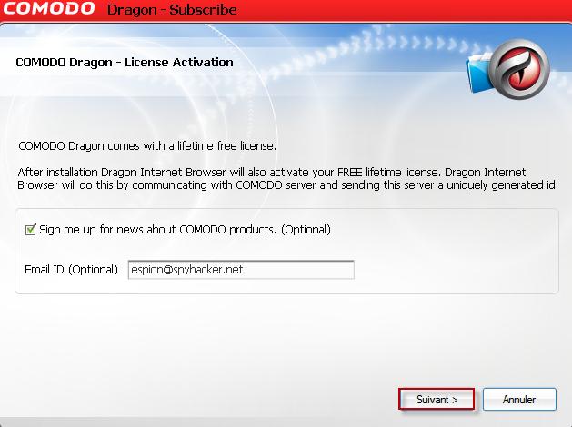 Comodo + Chrome = Comodo Dragon Internet Browser 15-02-11