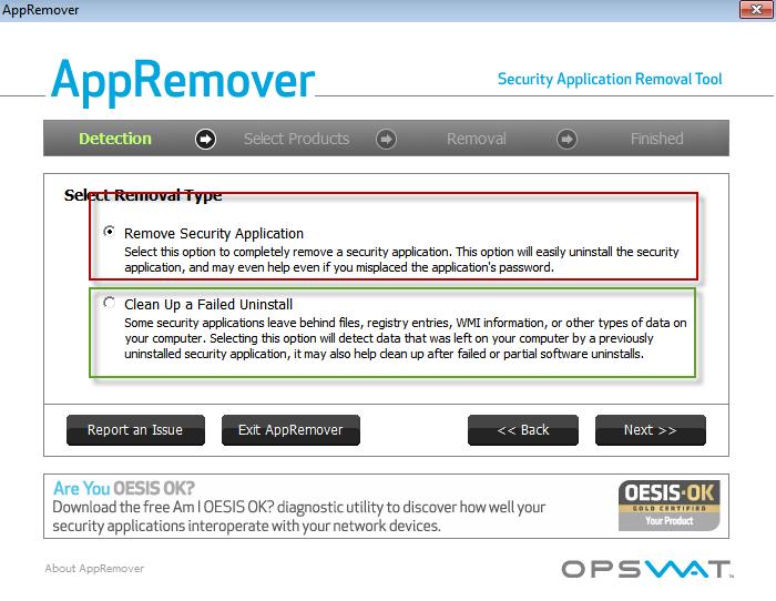 AppRemover : supprimer la plupart des anti-virus et anti-spyware. 22-03-10