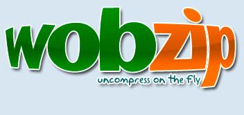 Décompresser sans logiciel avec Wobzip en ligne Head110