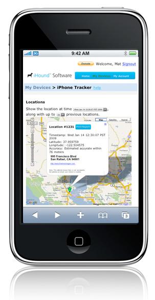 6 façons de pister et récupérer votre iPhone perdu ou volé ! Ihound10