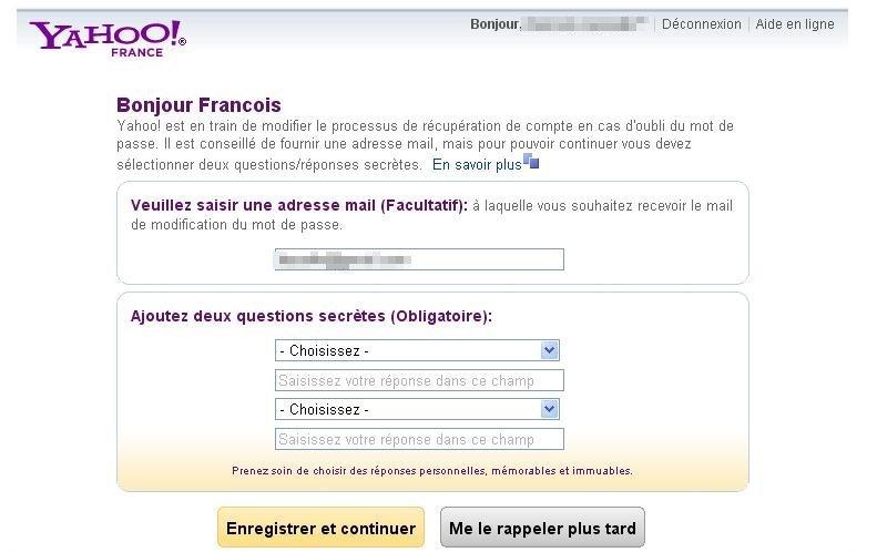 Conseils de sécurité : FaceBook contre les escroqueries, virus et Hacks Yahoo_10