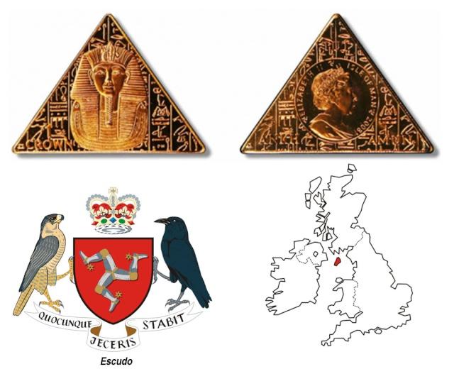 Isla de Man  ***  Moneda Piramidal 82928910