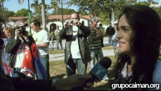 Protesta por Reina Luisa Tamayo Dic_1010
