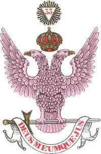 Supremo Consejo del grado 33, último y UNICO del Rito Escocés Antiguo y Aceptado para España  Escud10