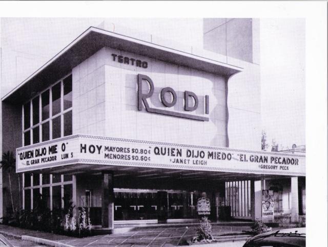 CINES QUE HABIAN EN LA HABANA EL 31 DE DICIEMBRE DE 1958 Teatro11