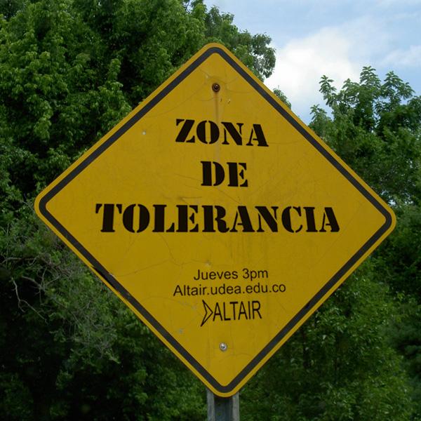 LO QUE ES Y NO ES LA TOLERANCIA Zona_d10