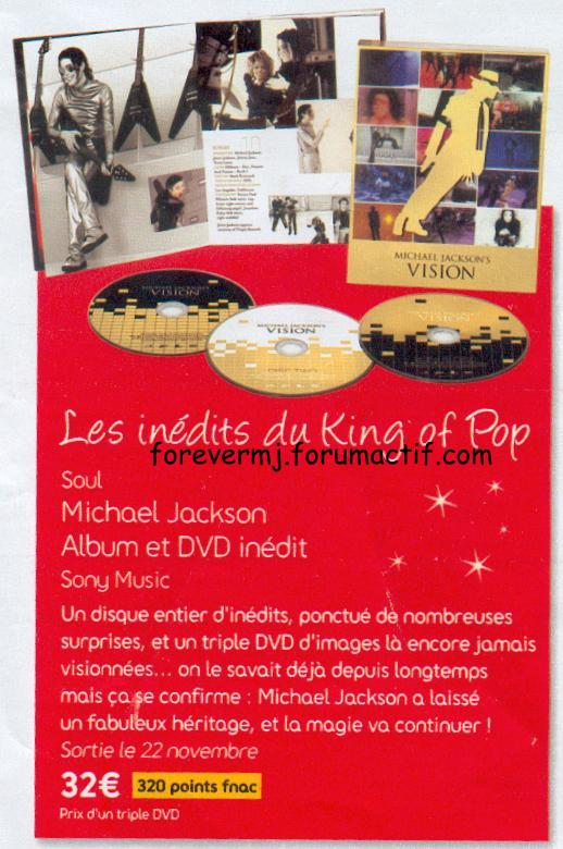 coffret triple dvd Mj10