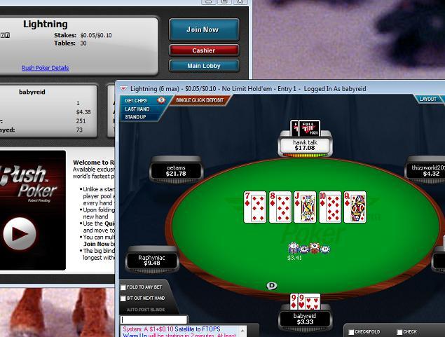 01/28/10 ~ rush poker Rush10