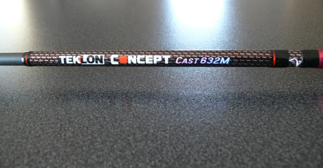 Canne casting 1m90 Medium, Teklon Concept Cast P1040810