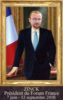 Galerie des anciens Présidents du Forum France Presid18