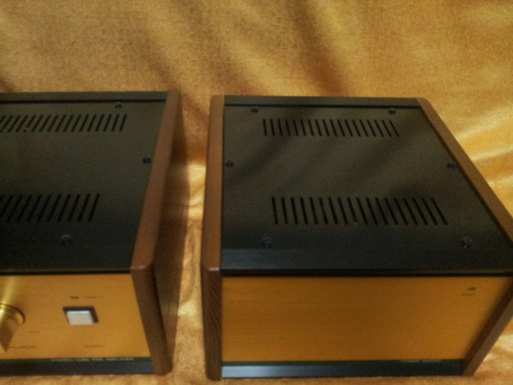 Leben RS28CX flagship tube Pre-amp with external power supply ( used )  20190713
