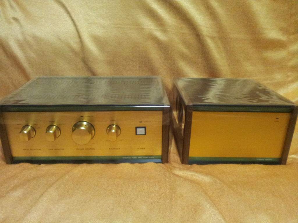 Leben RS28CX flagship tube Pre-amp with external power supply ( used )  20190714