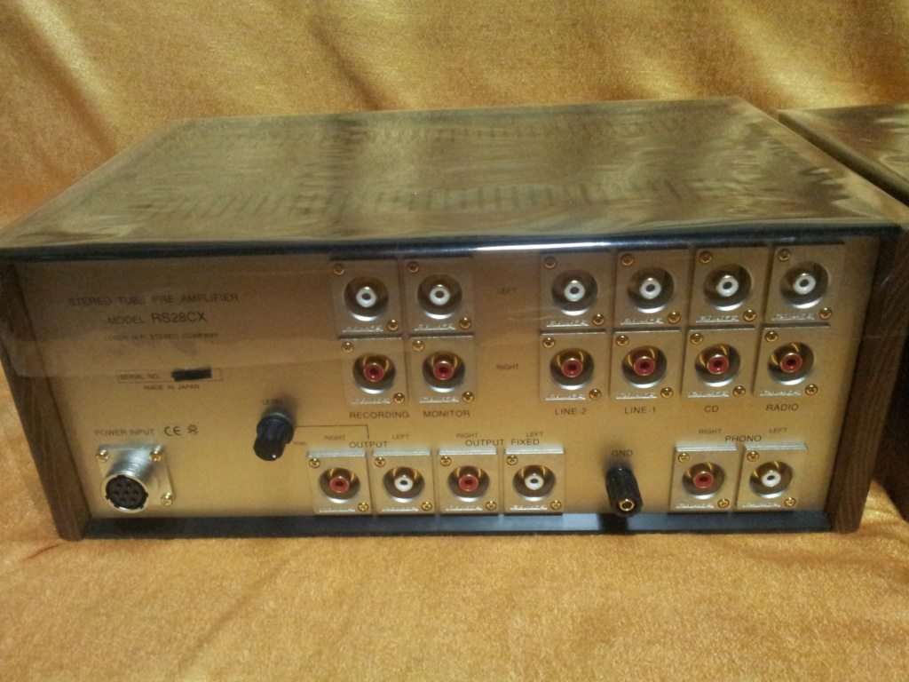 Leben RS28CX flagship tube Pre-amp with external power supply ( used )  20190718