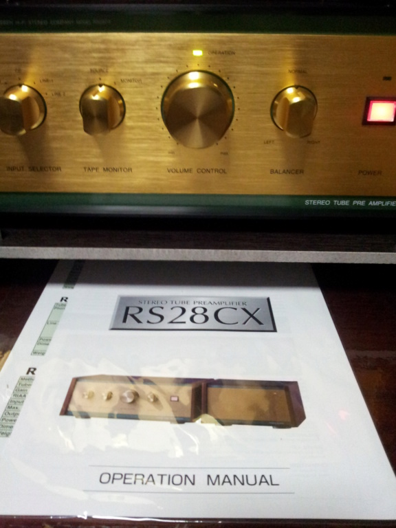 Leben RS28CX flagship tube Pre-amp with external power supply ( used )  20190719