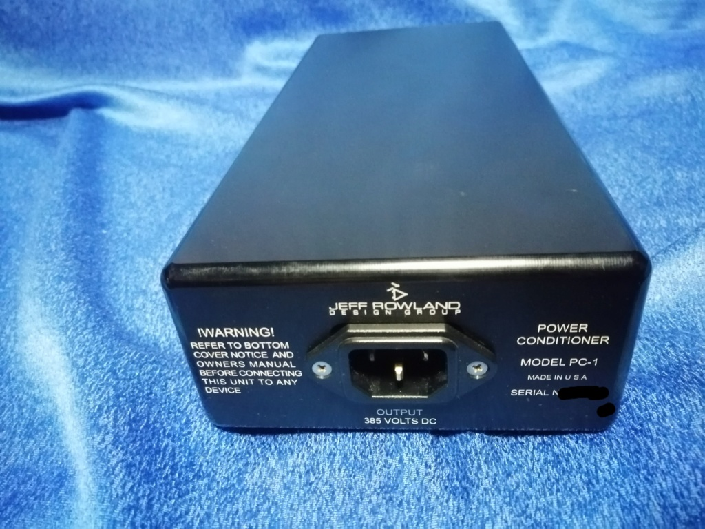 Jeff Rowland Capri S2 pre amp with Dac & PC 1 external power supply (used) Img_2021