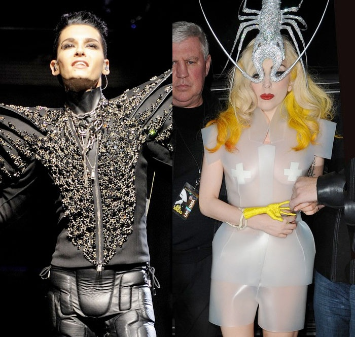 [Net/ES/Mars 2010] (Red17.com) Lady Gaga et Bill Kaulitz, quel look est le plus rare ? Fghfhf10