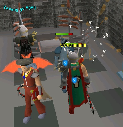 Ngu8 Gets 99 Attack And 123 Combat