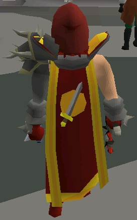 Ngu8 With Attack Cape Back View