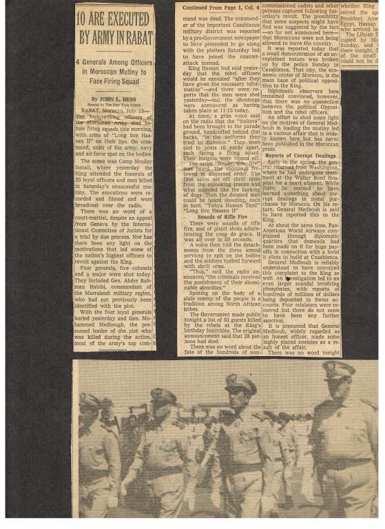 Tentative de coup d'État à Rabat et Skhirate le 10 juillet 1971  33684_10