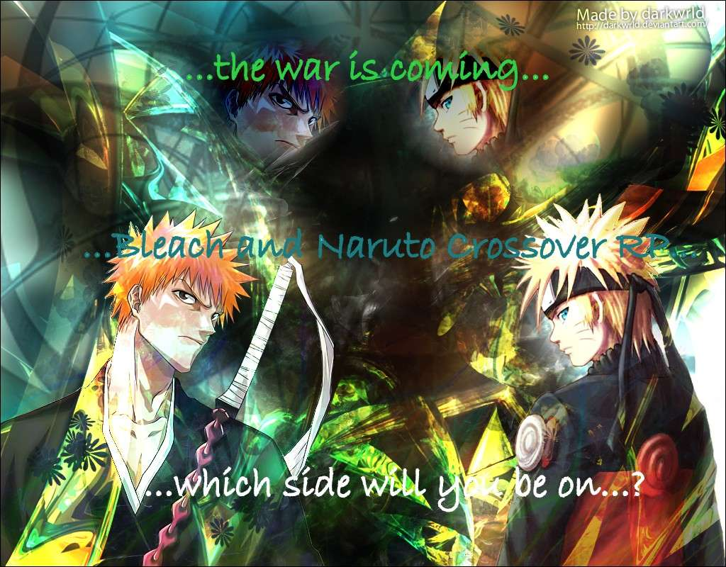 Bleach & Naruto crossover Role Play