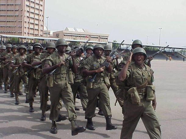 Armée Nigériane / Nigerian Armed Forces 610x10