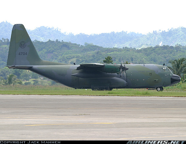 Armée des Philippines / Armed Forces of the Philippines / Sandatahang Lakas ng Pilipinas C-130h10