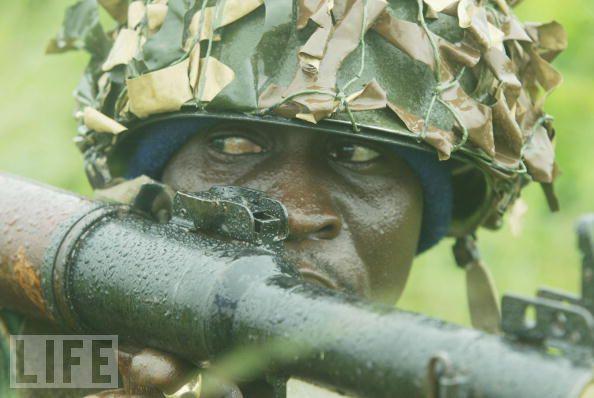 Armée Nigériane / Nigerian Armed Forces Veu04210