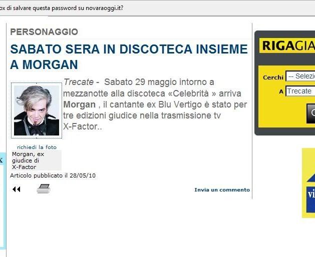 NUOVO! A proposito di Marco Morgan Castoldi - Pagina 39 Nov10
