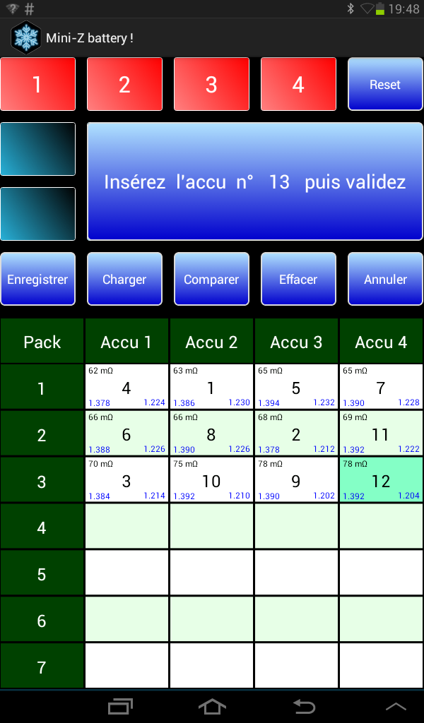 Test accus Screen10