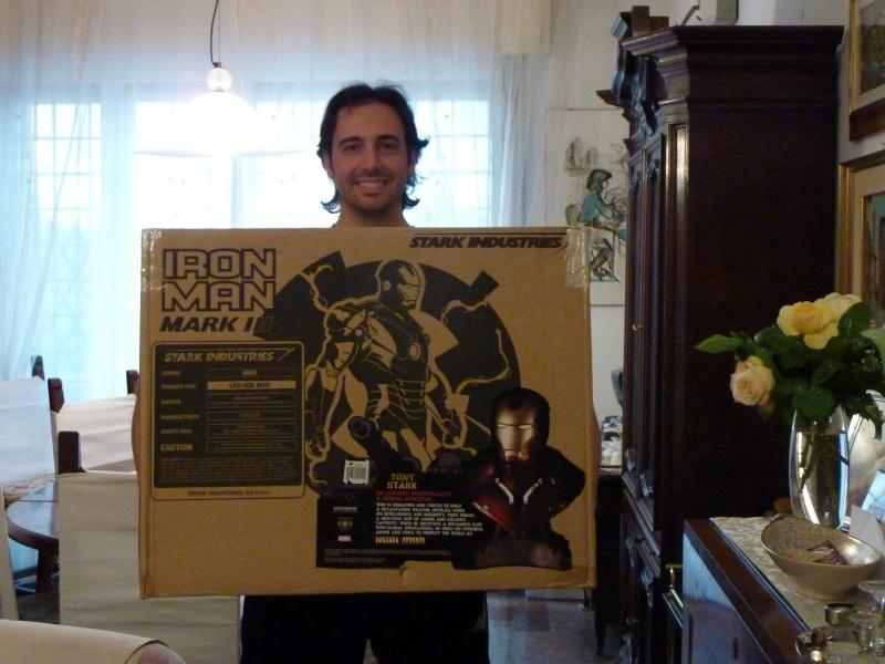 follia: iron man 1:1 scale from sideshow (quel ragazzo ha dei problemi) P1000411
