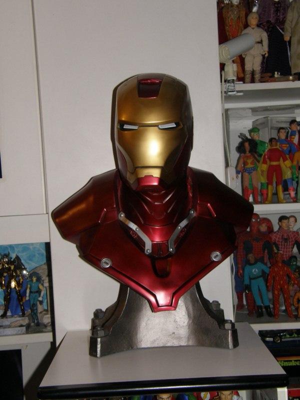 follia: iron man 1:1 scale from sideshow (quel ragazzo ha dei problemi) P5150010