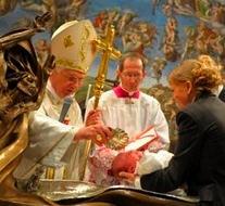 Message du pape Benoît XVI pour le Carême de cette année. Benoit16