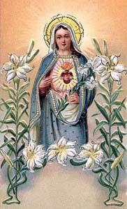 Consécration au cœur douloureux et immaculé de Marie Bvm00119