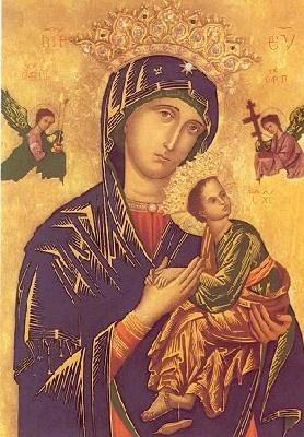 Ma Prière  et Neuvaine à notre Dame du perpetuel secours Dame_d25