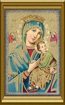 Ma Prière  et Neuvaine à notre Dame du perpetuel secours Dame_d47