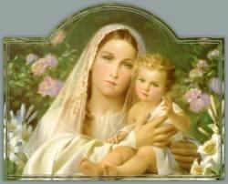Amour,honneur, louange a la Vierge Marie Marie216