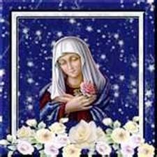 Amour,honneur, louange a la Vierge Marie Marie_24