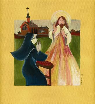 Neuvaine a la Divine Misericorde, Le chapelet Soeur-10