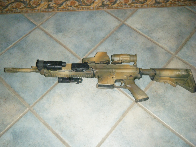 =HK 416 Classic Army= Dscf9318