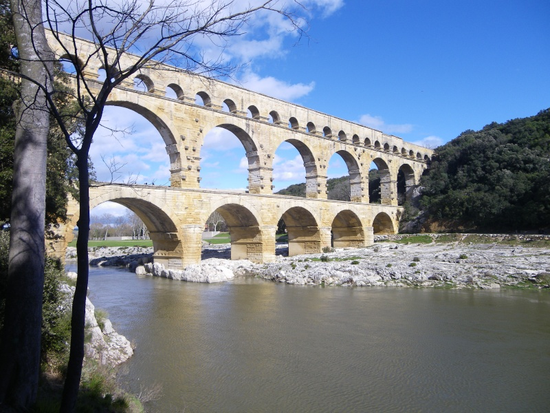 Pont du Gard - Un petit coin au bord du Gardon Imgp0015