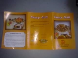 FANCY GRILL UNIVERSAL @ BEKAS PEMANGGANG BBQ SERBAGUNA Grill410