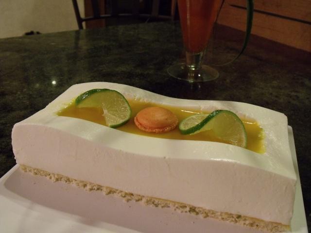 citron - Bavarois citron vert / noix de coco / fruits exotiques Recett39