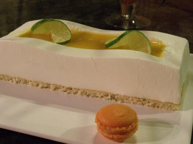 citron - Bavarois citron vert / noix de coco / fruits exotiques Recett40