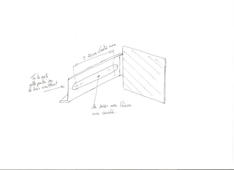réalisation support plaque latérale et cache trou feu arrière Plaque12