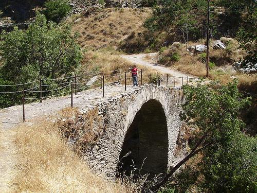 LA  ALPUJARRA  MECINA BOMBARÓN Puente10