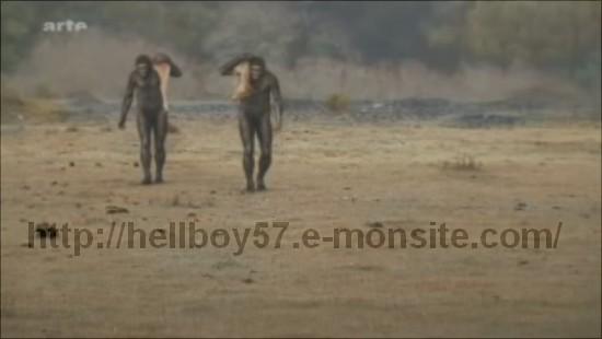 paléoantropologie homo erectus homo heidelbergensis homo neandertalensis arte Aux origines de l'humanité Homo sapiens dernier survivant de la lignée 13 11 2010 Grahan Townsley disparition massive hominidé paléontologie outil