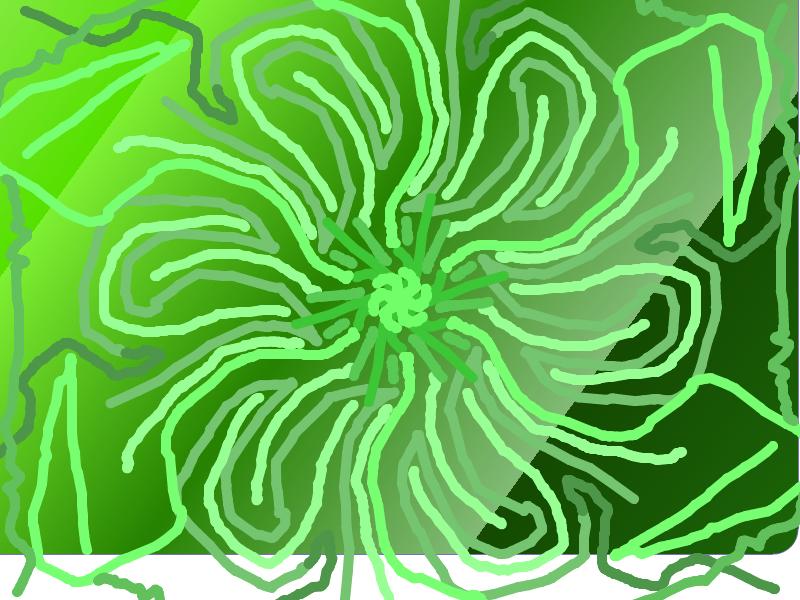 Green flower! Green_10