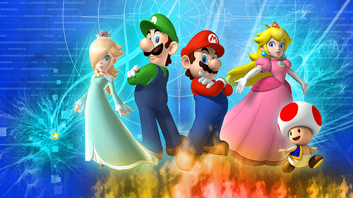 personnages  mario 36509710