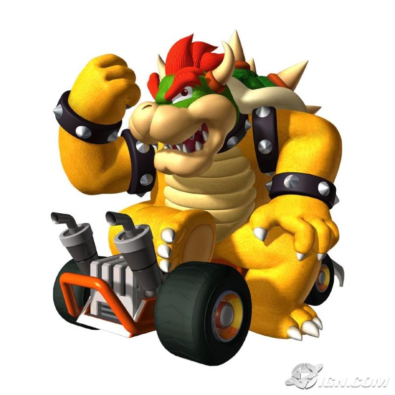Bowser, bowser jr et bowser skelet Mario-12